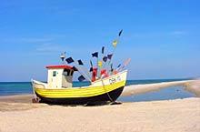 Dąbki - plaża