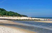 Dębki - plaża