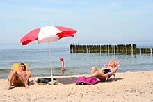 Dziwnówek - plaża w Dziwnówku
