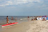Mrzeżyno - plaża