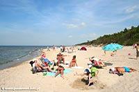 Pobierowo - plaża w Pobierowie