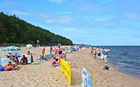 Pustkowo - plaża