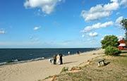 Rewa - plaża w Rewie