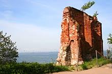 Trzęsacz - ruiny kościoła w Trzęsaczu