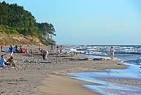 Wicie - plaża
