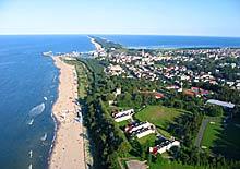 Władysławowo - widok z lotu ptaka